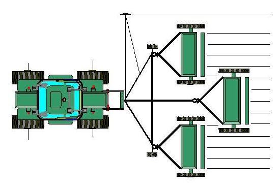 Односеялочный посевной агрегат